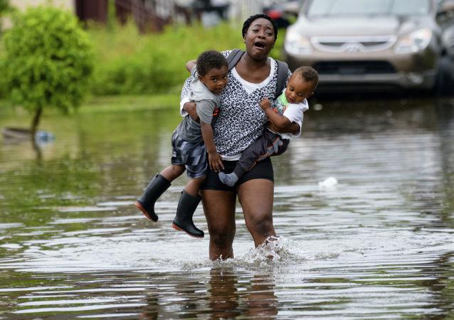 Povodně v New Orleans (10. července 2019)