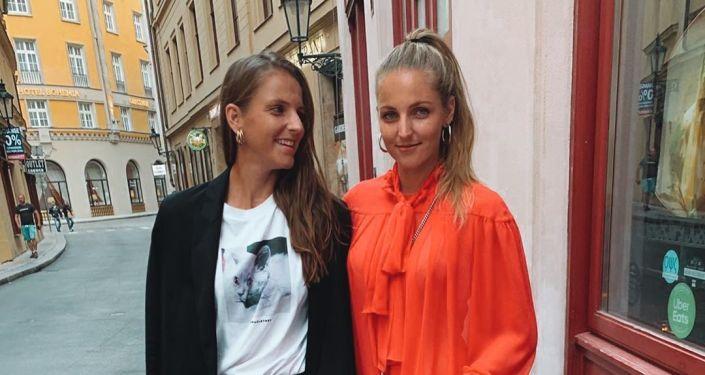 Kristýna a Karolína Plíškovy