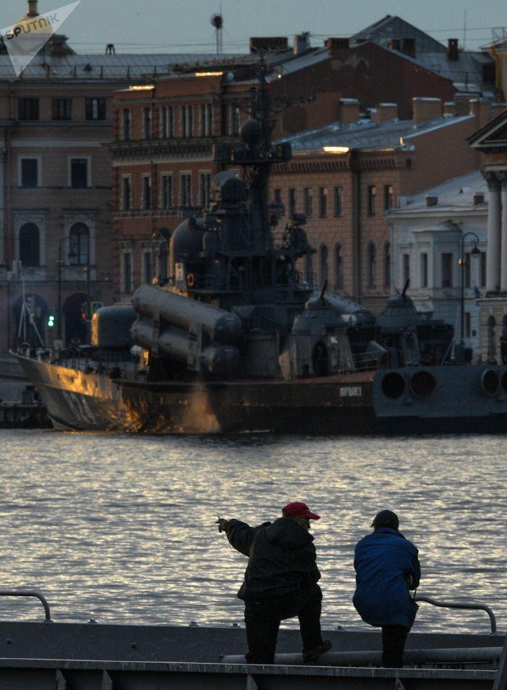 Velký raketový člun Moršansk