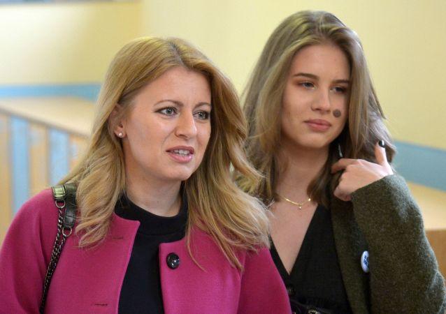 Zuzana Čaputová s dcerou