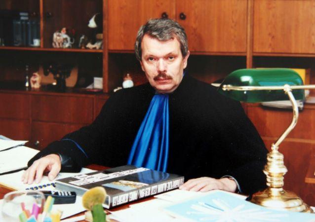 Bývalý místopředseda nejvyššího soudu Pavel Kučera