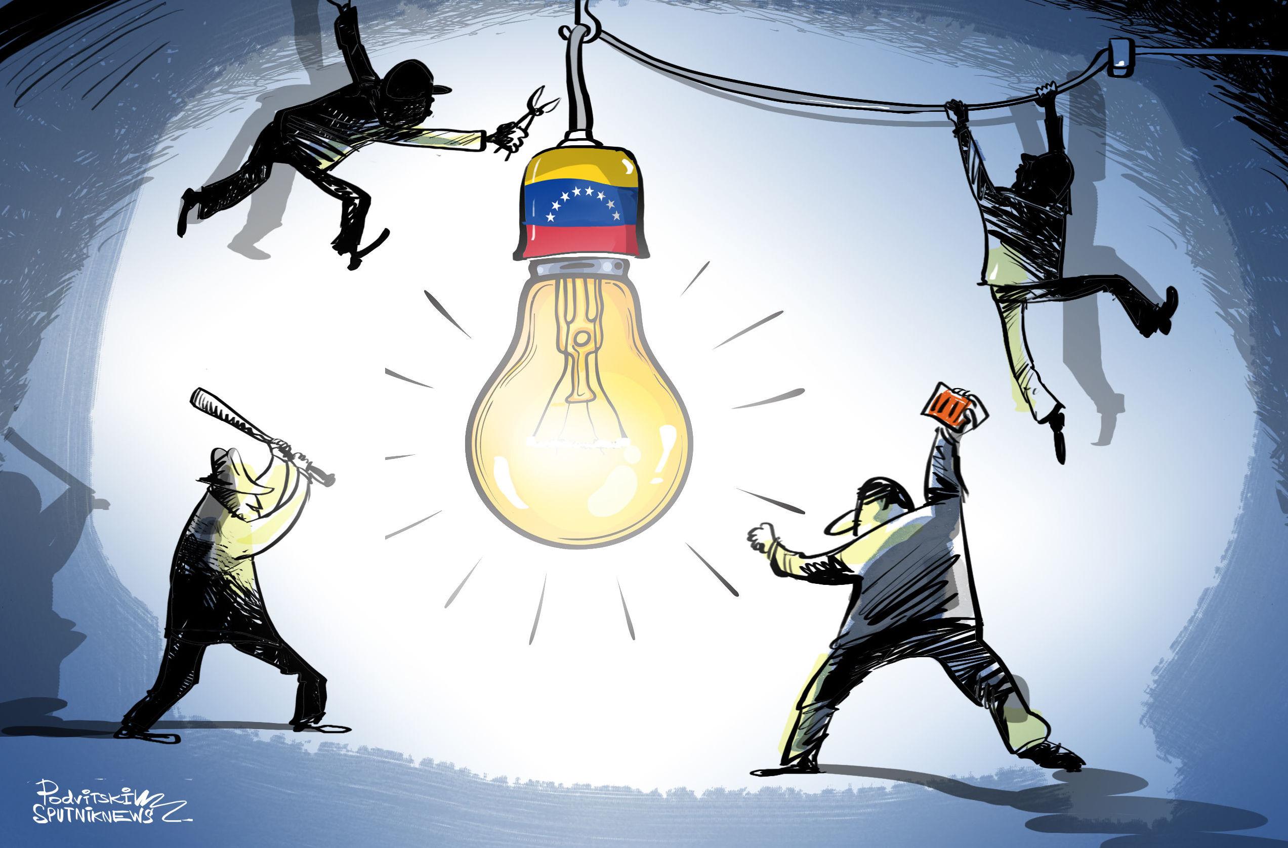 Blackout ve Venezuele: Maduro hovoří o zločineckém útoku