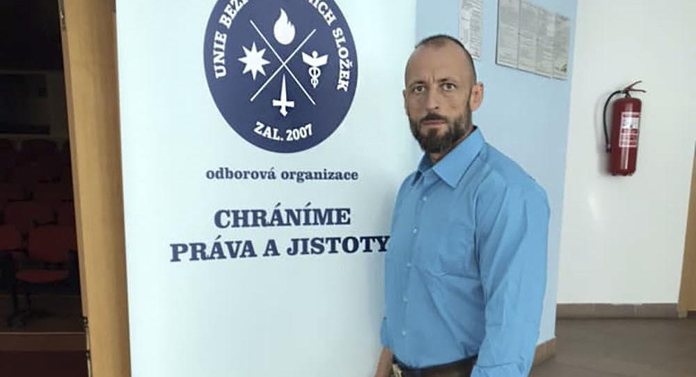Předseda Unii bezpečnostních složek Zdeněk Drexler