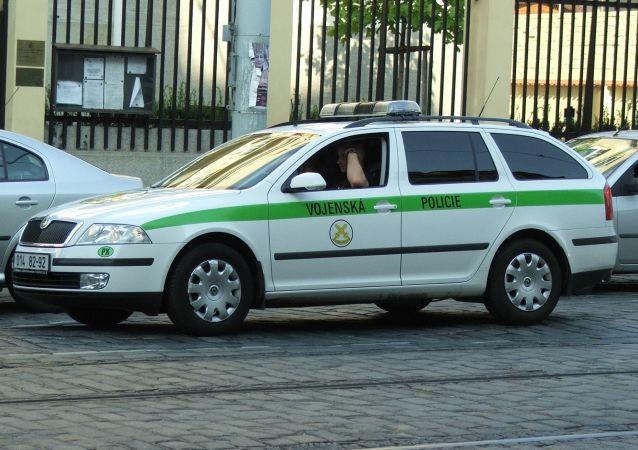 Auto české vojenské policie