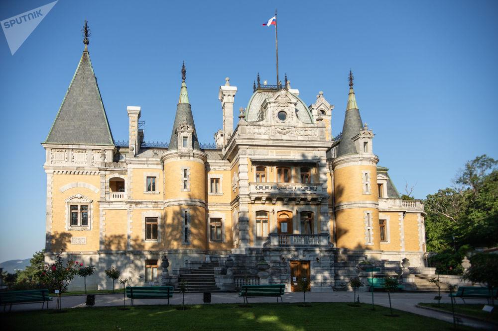 Palác Alexandra III. v Massandře.