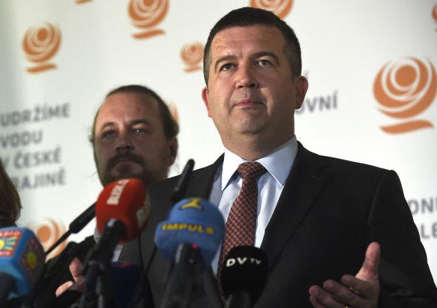 Ministr vnitra ČR Jan Hamáček