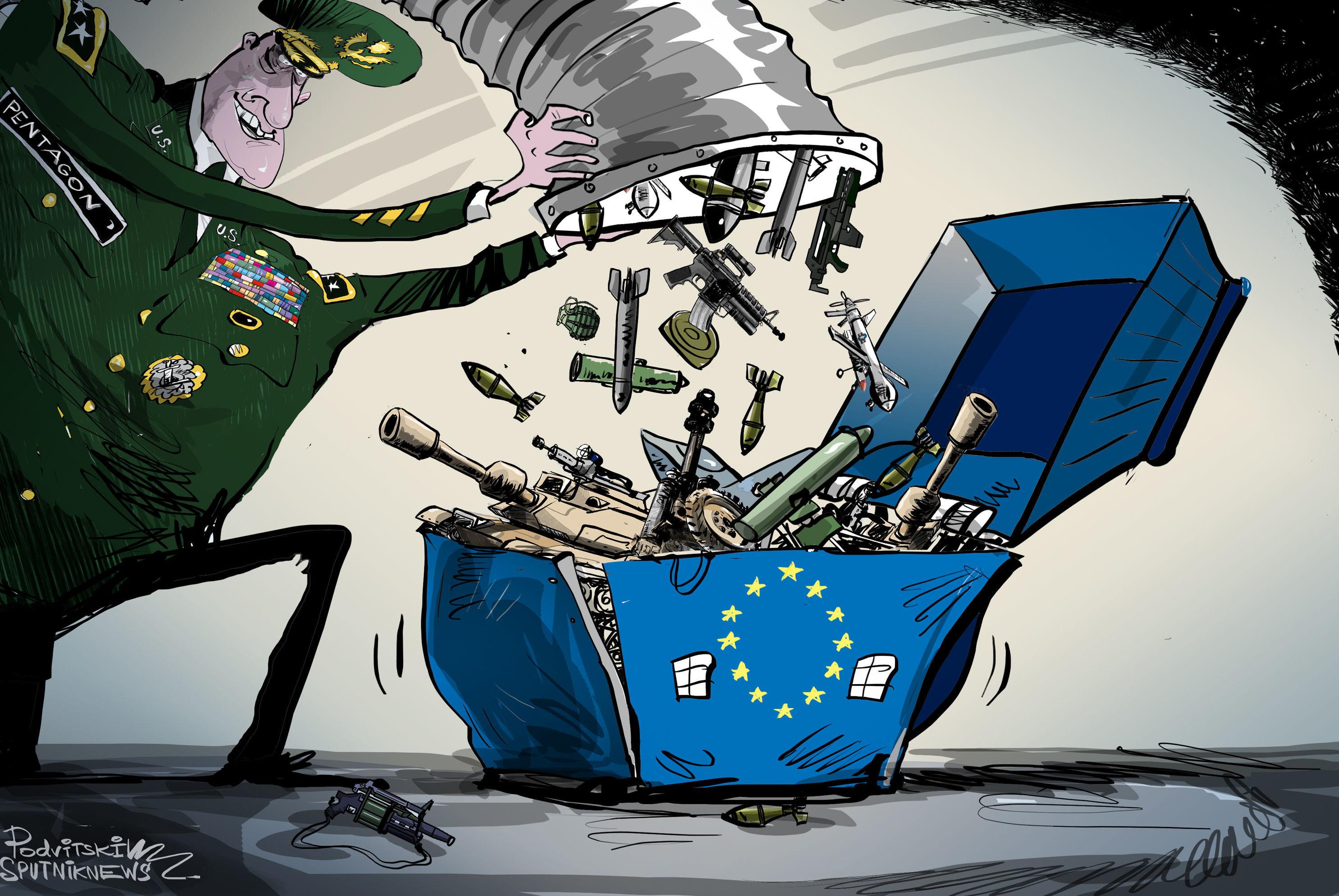 Pentagon plánuje umístit armádu v Evropě