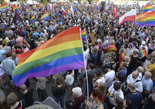 Pochod gayů v Polsku