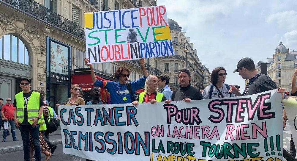 38. demonstrace žlutých vest