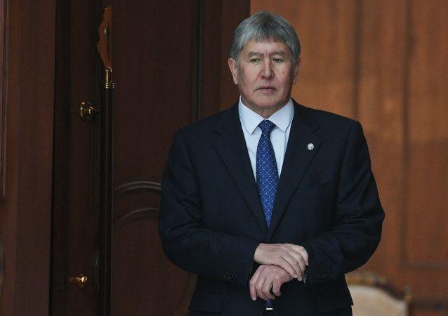 Bývalý prezident Kyrgyzstánu Almazbek Atambajev