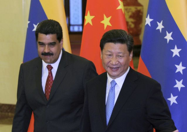 Nicolás Maduro a Si Ťin-pching