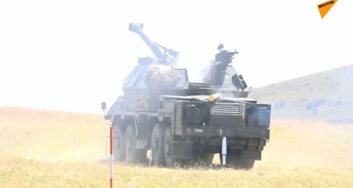 V Gruzii skončila vojenská cvičení NATO Agile Spirit 2019