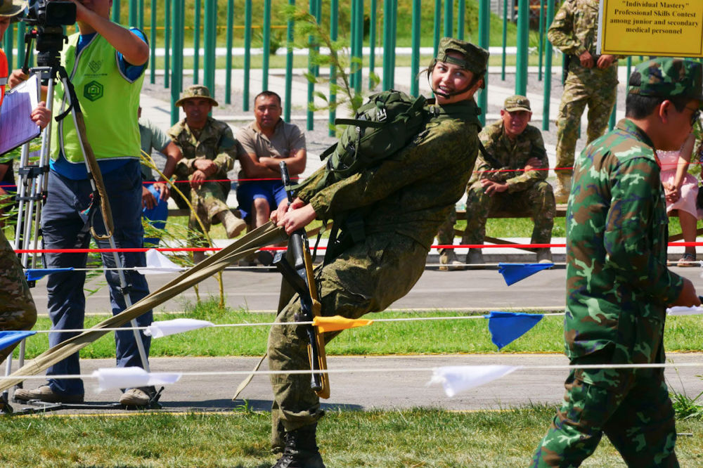 Ruské vojenské lékařky