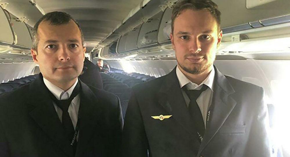 Letci Damir Jusupov a Georgij Murzin