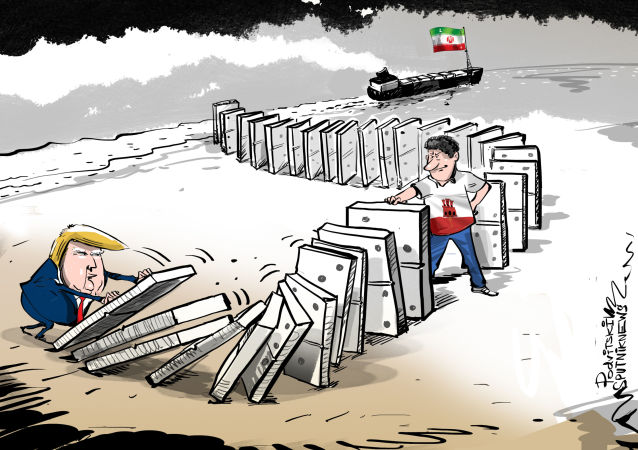 """Karikatura """"No počkej, Donalde"""". Platí zde jiné předpisy"""