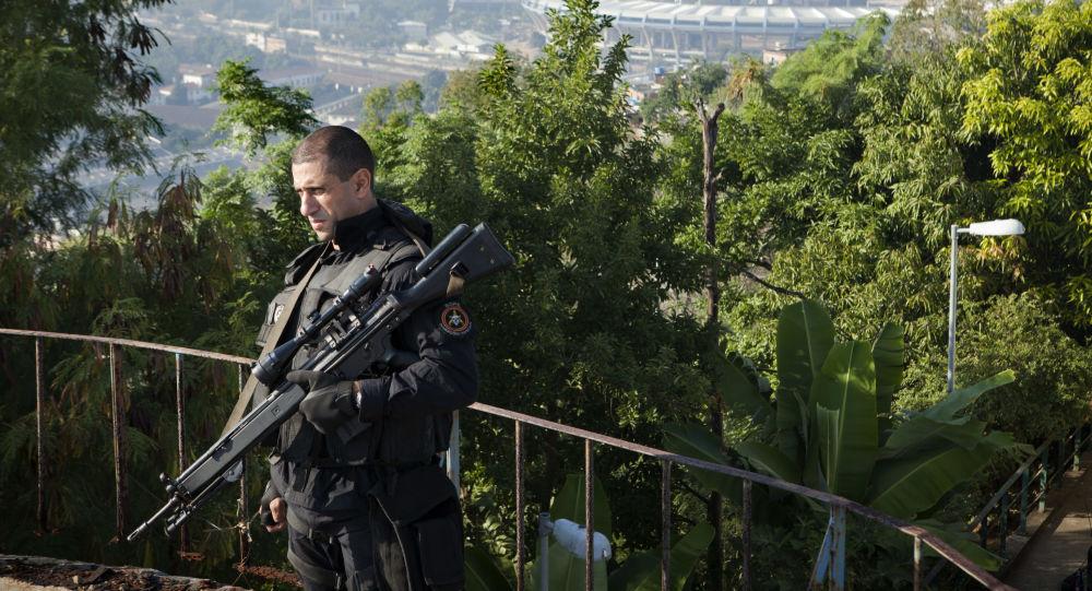 Policista BOPE v Rio de Janeiro