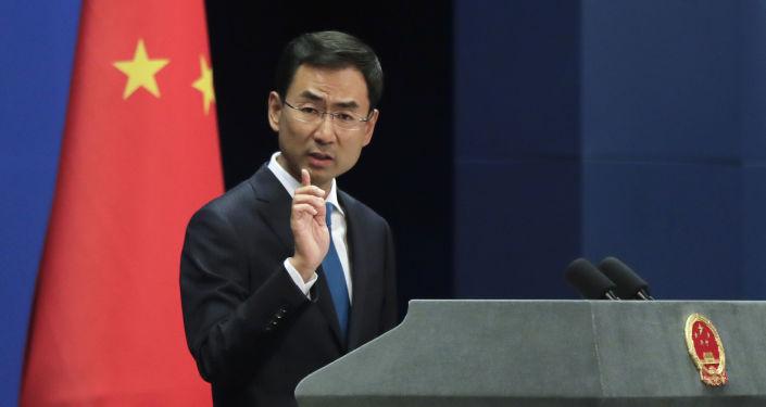 Mluvčí ministerstva zahraničí Číny Gen Shuang