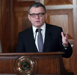Český ministr kultury Lubomír Zaorálek