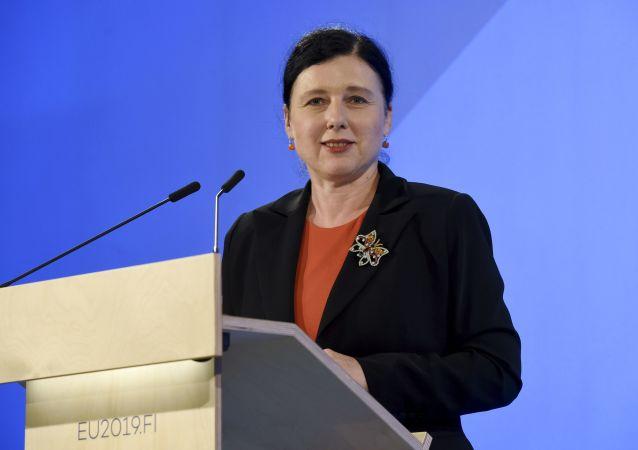 Česká politička, právnička a eurokomisařka Věra Jourová