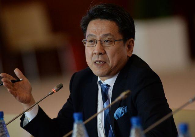 Starší správce Japonské banky pro mezinárodní spolupráci Tadaši Maeda