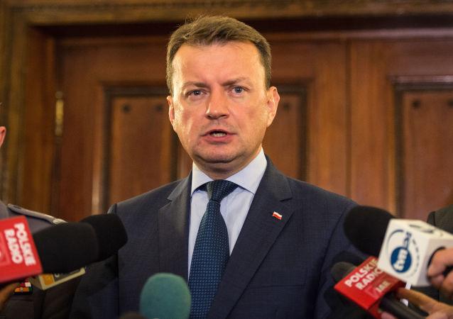 Polský ministr národní obrany Mariusz Blaszczak