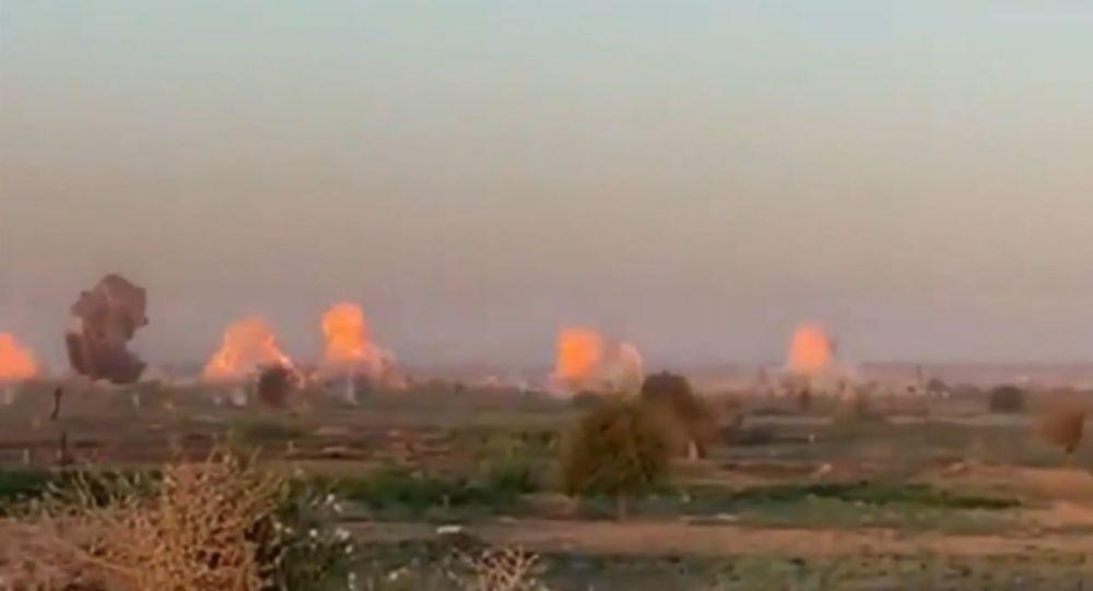Spojené státy pro islámské bojovníky vytvořily ohnivou bouři