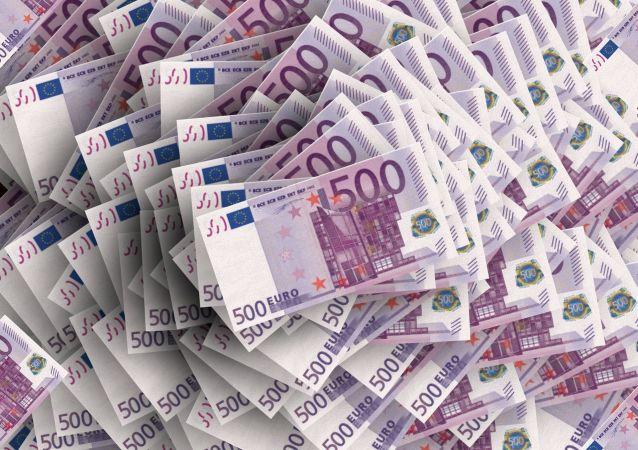 Bankovky v hodnotě 500 eur