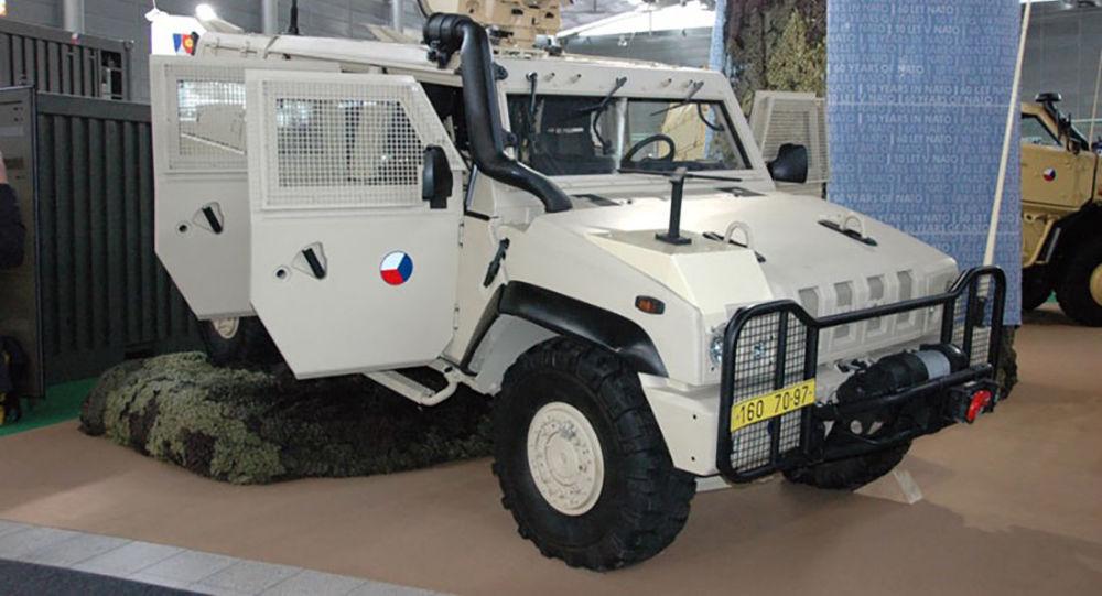 Obrněný vůz Iveco české armády