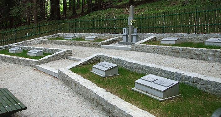 Lesní hřbitov Borek (Domašov)