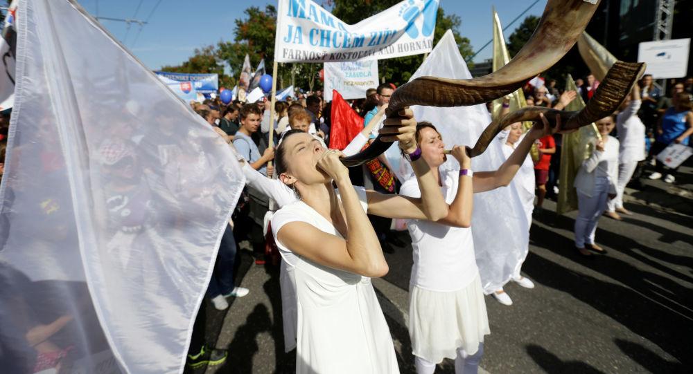 Národní pochod za život, Slovensko.
