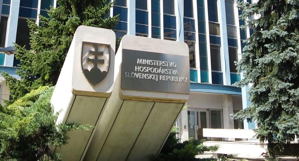 Budova slovenského ministerstva hospodářství