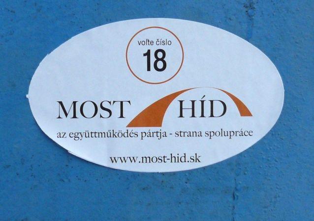 logo slovenské strany Most-Híd