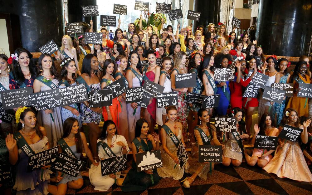 Pětaosmdesát krásek z celého světa bude soupeřit o titul Miss Earth 2019. Finále proběhne dne 26. října ve městě Naga, poblíž Manily.