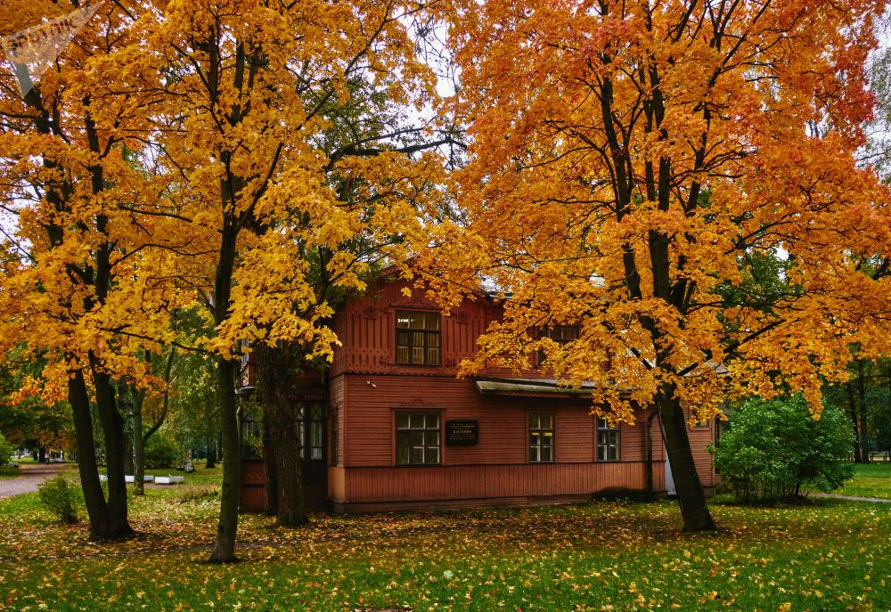 Chata M. I. Kalinina v Petrohradě