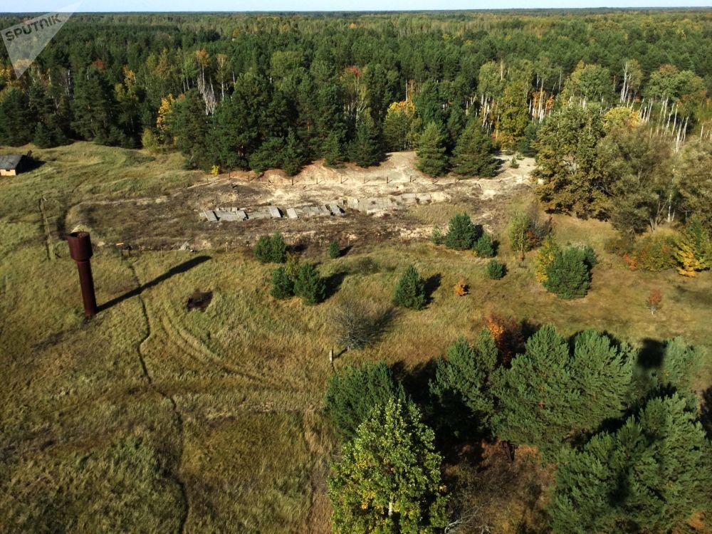 Úložiště radioaktivního odpadu ve výzkumné stanici Masany.