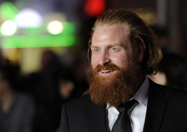 Norský herec Kristofer Hivju, který hrál vpopulárním televizním seriálu Hra o trůny divokého Tormunda