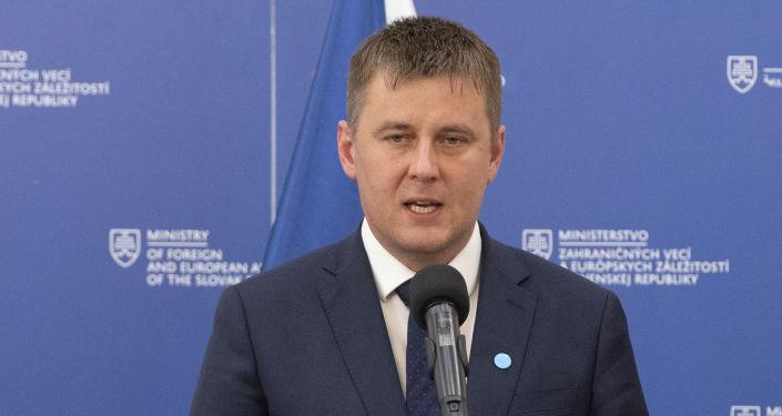 Ministr zahraničí ČR Tomáš Petříček