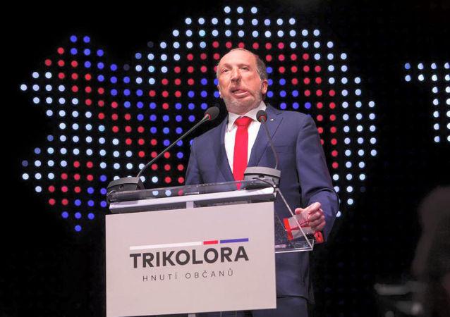 Zakladatel hnutí Trikolóra Václav Klaus mladší
