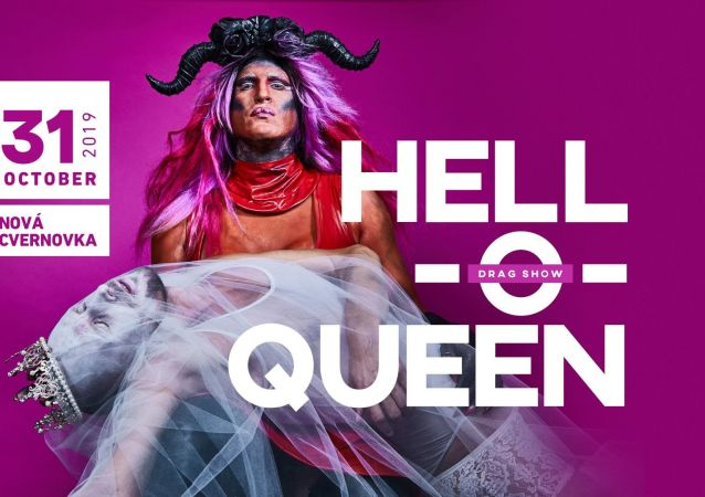 Reklama Drag Show Hell-o-queen 2019 na Slovensku