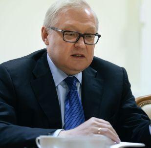 Náměstek ministra zahraničních věcí Sergej Rjabkov