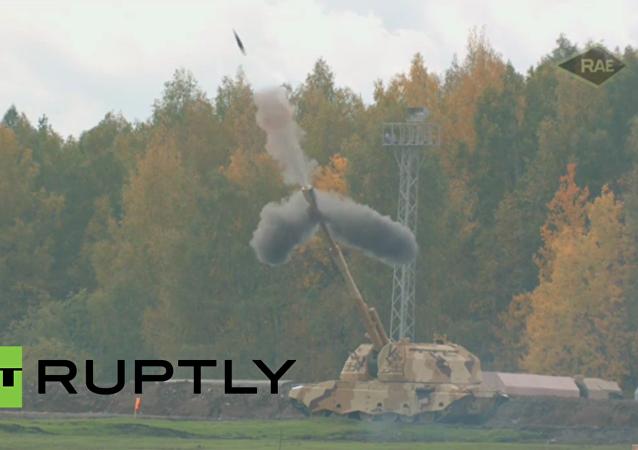Zahájení výstavy zbraní Russia Arms Expo