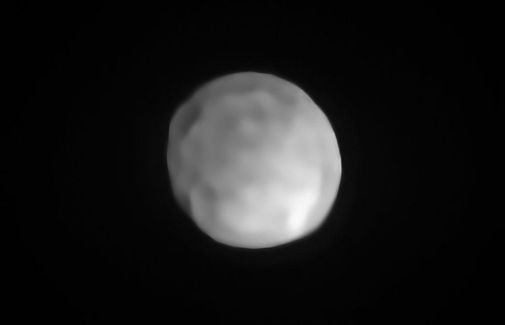 Vědci zjistili, že toto těleso z hlavního pásu asteroidů Hygiea odpovídá všem parametrům, aby mohlo být považováno za trpasličí planetu.