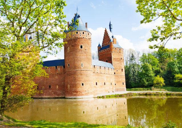 Belgický hrad Beersel