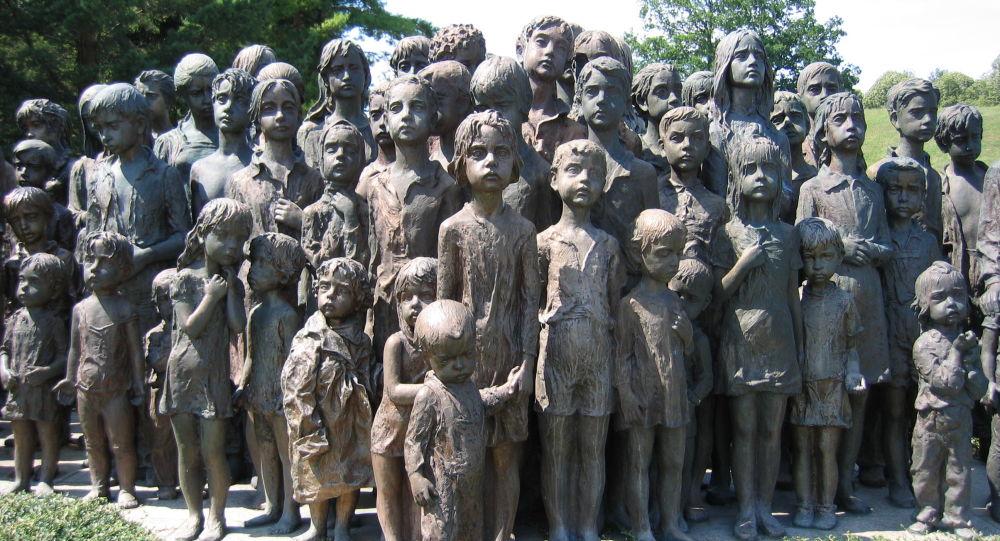 Památník dětským obětem, Lidice