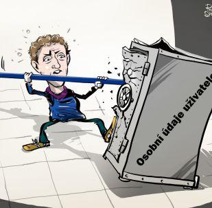Karikatura 'Osobní'? Internet toto slovo nezná