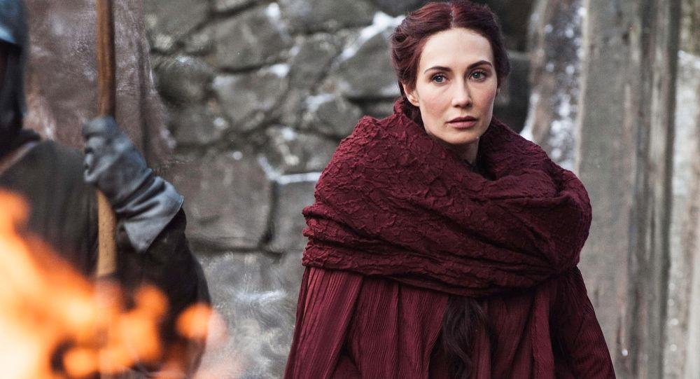 Postava Melisandry v seriálu Hra o trůny