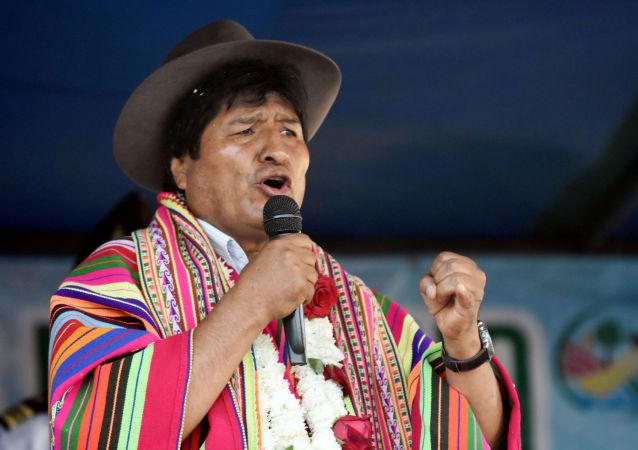 Bývalý bolivijský prezident Evo Morales