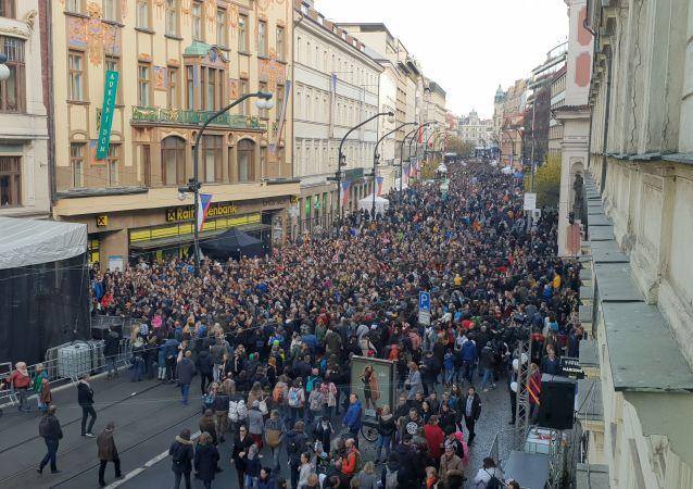 Praha 17. 11. 2019, 30 let po Sametu.