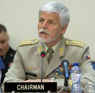 Bývalý předseda Vojenského výboru NATO generál Petr Pavel