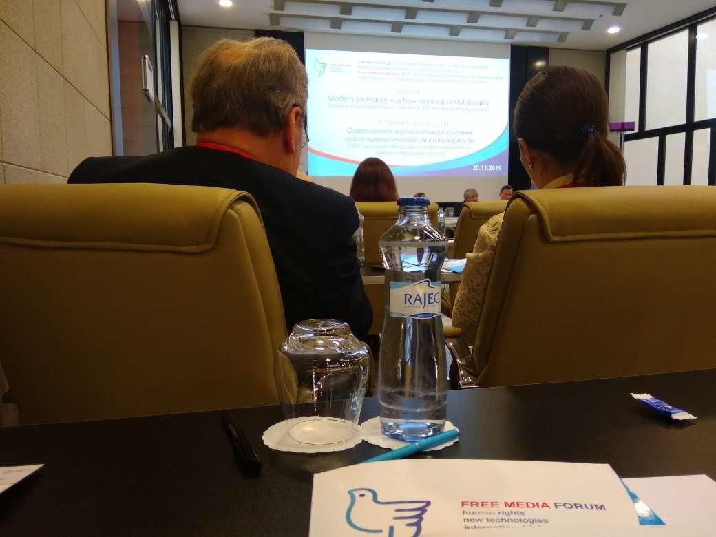 Na mezinárodním mediálním fóru v Praze